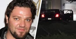 Bam Margera's Car Was Stolen And Crashed Into A House