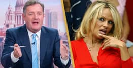 Piers Morgan Asks Pamela Anderson To Test 'Vegans Are Better Lovers' Claim With Him