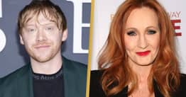 Rupert Grint Says He Needed To 'Stand Up' Against JK Rowling's Transphobic Letter