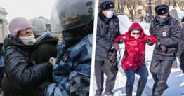 Another 2,200 Russians Arrested As Anti-Putin Protests Continue For Second Weekend