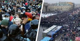Massive Anti-Corruption Protests Are Happening All Over Russia