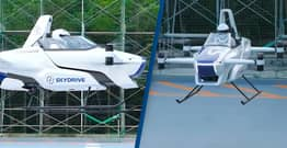 Flying Cars Set To Be A Reality In Japan By 2023