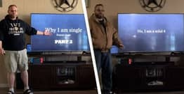 TikTok Dad Who Gives Kids Presentation On Why He's Still Single Delights Internet