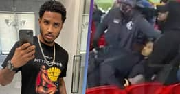 Trey Songz Arrested For Assaulting Police Officer During Football Match