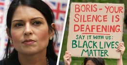 Priti Patel Condemns Black Lives Matter Protests As 'Dreadful'