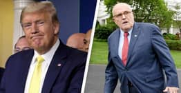 Trump And Giuliani Sued For Conspiracy To Incite Capitol Riot