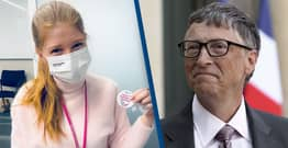 Bill Gates' Daughter Takes Aim At Anti-Vaxxers After Getting COVID Vaccine