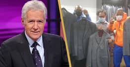 Alex Trebek's Jeopardy! Wardrobe Donated To Ex-Homeless Men Looking For Work
