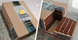 Guy's Amazon Parcel Turns Out To Be Ridiculously Detailed Birthday Cake