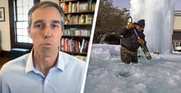 Beto O'Rourke Says Texas Is 'Nearing A Failed State' Due To Republican Leadership Amid Deadly Cold Snap