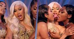 Cardi B Says She Had To Beg To Keep Kissing Scene In Music Video