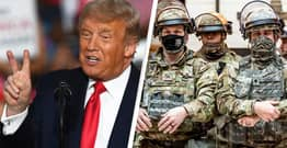 National Guard On Standby For Day QAnon Think Trump Becomes President