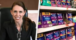 All New Zealand Schools Will Offer Free Sanitary Products To End Period Poverty, Jacinda Ardern Says