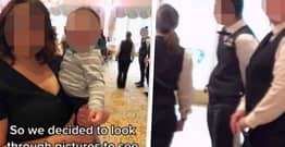 Woman Spots Waiter Stealing Money After Looking At Baby Shower Photos