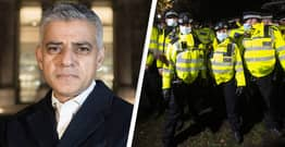 Sadiq Khan 'Not Satisfied' With Met Commissioner Cressida Dick's Explanation Of Police Actions