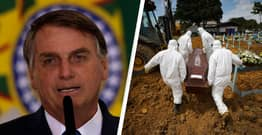 Brazilian President Jair Bolsonaro Tells Country To 'Stop Whining' After Record COVID Deaths