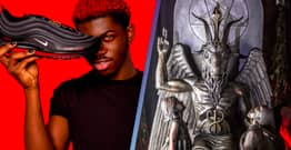 Church Of Satan Approves Of Lil Nas X's Human Blood Shoes