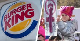 Burger King Slammed For Inappropriate International Women's Day Tweet