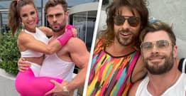 Chris Hemsworth Criticised For Attending Maskless Fancy Dress Party On Social Media