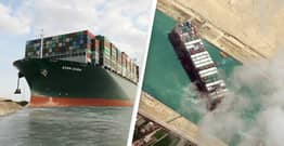 Crew Of Ever Given Could Face Arrest As Authorities Begin Investigation Into Suez Canal Crisis