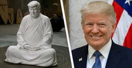 Life-Size Trump Buddha On Sale For £450 In China