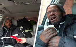 Homeless Man Breaks Into Tears After Strangers Give Him $17,000 For A House
