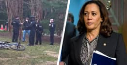 Texas Man Arrested Outside Kamala Harris's Washington Home With Gun And Ammunition
