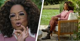 QAnon Supporters Think Oprah Was Wearing An Ankle Monitor During Interview