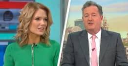 Piers Morgan Accused Of Misogyny After Comments About Charlotte Hawkins' Dress