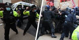 Police Admit No Officers Broke Bones At Kill The Bill Protest After Claiming They Did