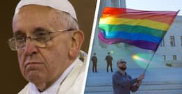 Pope Francis Says Catholic Priests Cannot Bless Same-Sex Unions