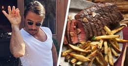 Salt Bae Is Selling A $1,000 Steak At His New Texas Restaurant