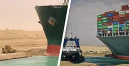 Ship Blocking Suez Canal Could Be Freed In Just Hours