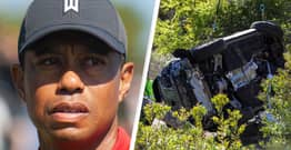 Tiger Woods Shares First Message Since Horror Crash Via Twitter