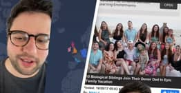 TikToker Thinks He's An Only Child, Finds Out He Has 30 Siblings After Taking DNA Test