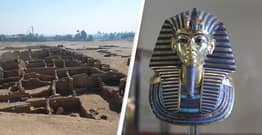 Archaeologists Discover Lost Golden City Built By Tutankhamun's Grandfather In Egypt