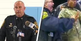Virginia Police Chief Says They Don't Owe Apology To Army Officer They Pepper-Sprayed