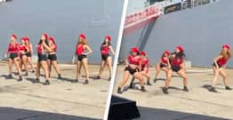 Australian Government Takes Aim At Navy After 'Inappropriate' Dance Performance