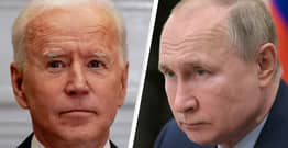 Biden Warns Putin He'll 'Act Firmly' To Defend Ukraine If Russia Does Not 'De-Escalate'