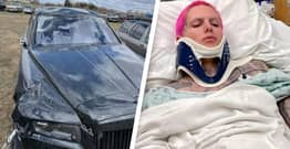 Jeffree Star Shares Pictures Of Rolls-Royce Destroyed In Car Crash That Broke His Back