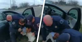 Police In Michigan Defend Themselves For Repeatedly Punching Littering Suspect Who Claims He Was Racially Profiled