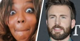 Chris Evans Starts Following Lizzo After She 'Drunkenly' Shoots Her Shot And DMs Him