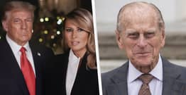 Melania Immediately Criticised For Calling Trump 'President' In Prince Philip Tribute
