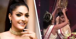 Mrs World Arrested After Furiously Yanking Crown Off Mrs Sri Lanka's Head