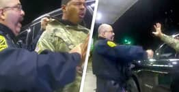 Black Army Officer Who Was Pepper Sprayed By Police Feared For His Life, Lawyer Says