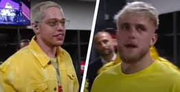 Pete Davidson Gets Muted After Asking Jake Paul An Awkward Question During Pre-Fight Interview