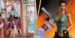 Female Gamers Call Out Sexist Tomb Raider Ad From 1999