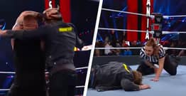 WWE Fans Delighted After Logan Paul Hit With Stunner During WrestleMania Appearance
