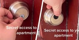 TikToker Claims Apartments Can Have A Secret Lock You Know Nothing About