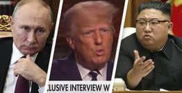 Trump Admits Being Friends With Kim Jong-Un And Vladimir Putin In Fox Interview